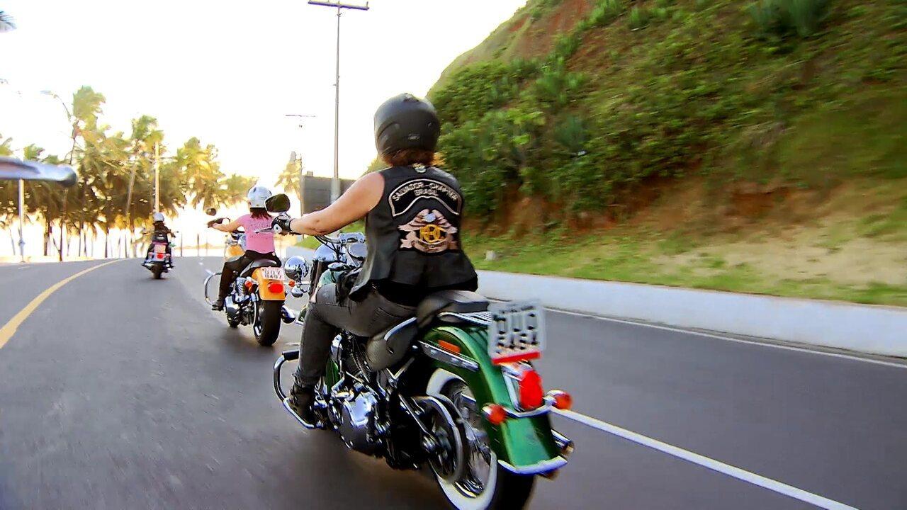 Adesivo Estrela Kalunga ~ Saiba o que as Motociclistas sentem ao pilotar uma mota Rede Bahia Mosaico Baiano Catálogo