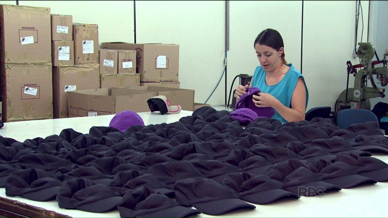 Arapongas é a maior fabricante de bonés do Brasil - G1 Paraná - vídeos -  Catálogo de Vídeos 8773a7dec2c