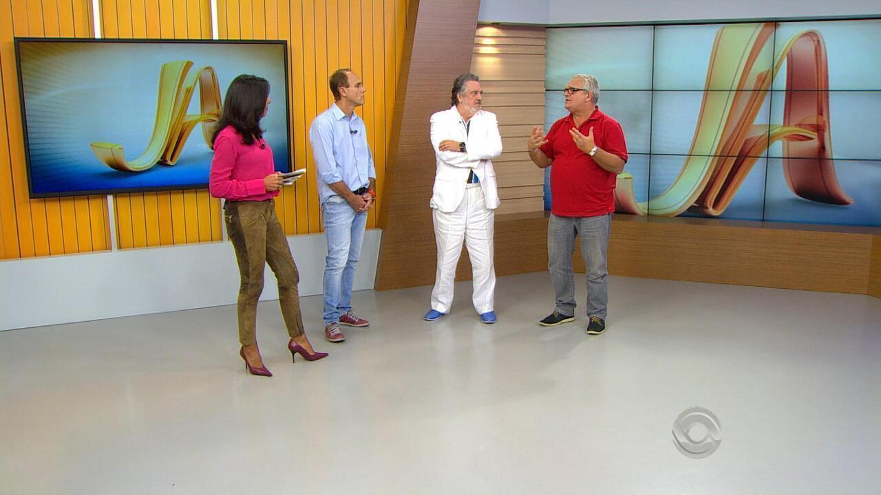Z Victor Castiel E Jo O De Almeida Neto S O Os Novos Integrantes Do  -> Sala De Redacao Na Tv Ao Vivo