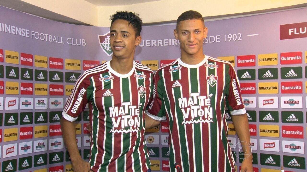 df34ca7a8e Fluminense e Botafogo voltam das férias com caras novas - G1 Rio de Janeiro  - Vídeos - Catálogo de Vídeos