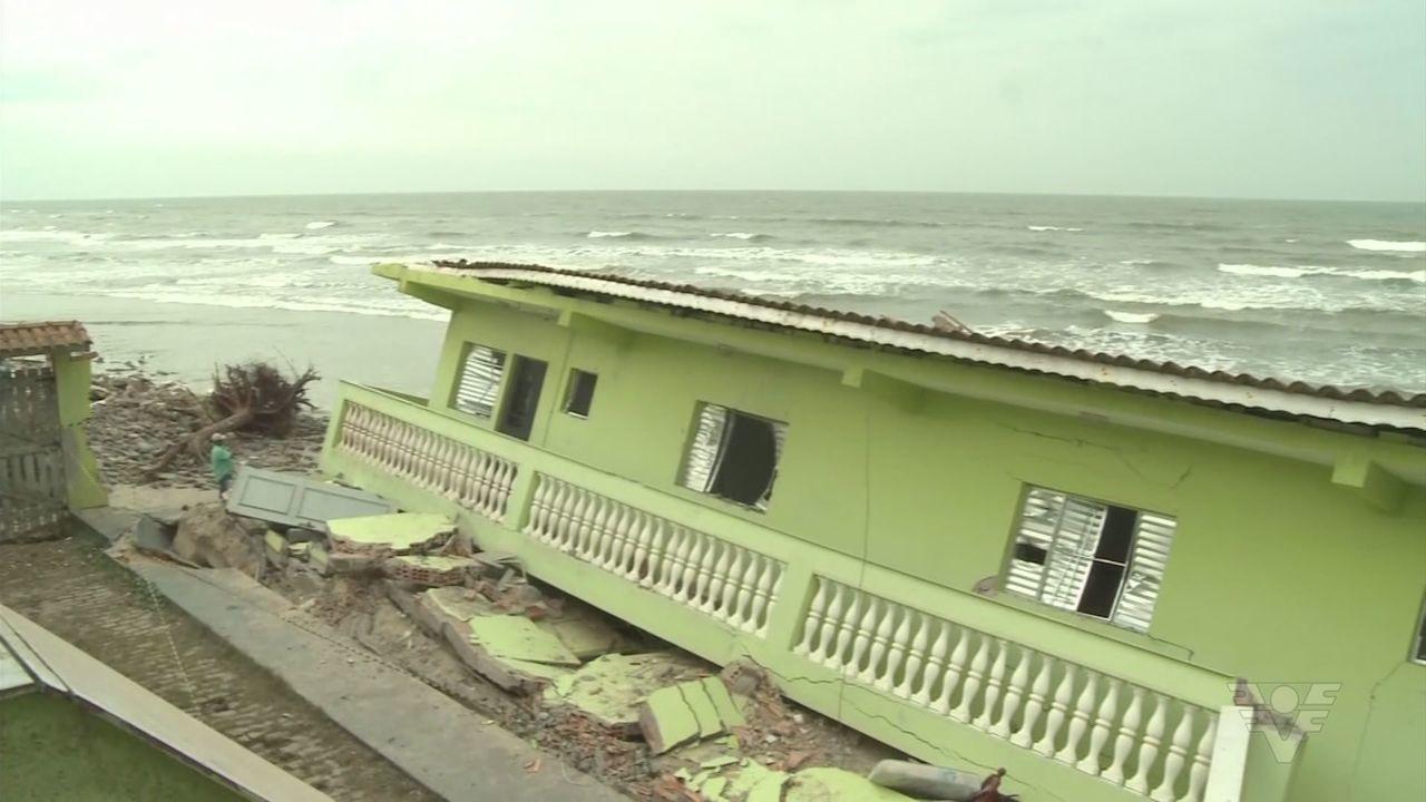 Moradores De Ilha Comprida Nao Sabem O Que Fazer Para Evitar