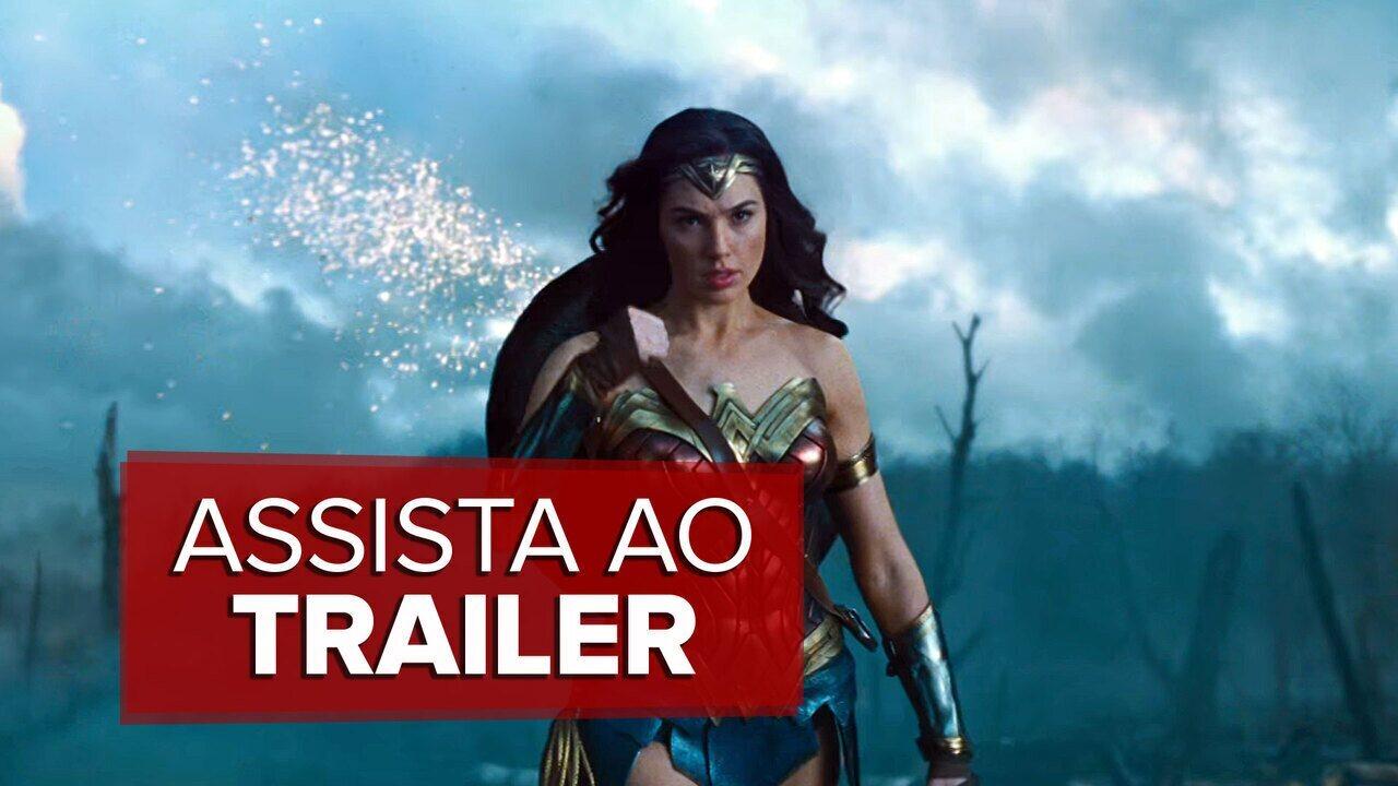 Assista ao trailer de 'Mulher-Maravilha'