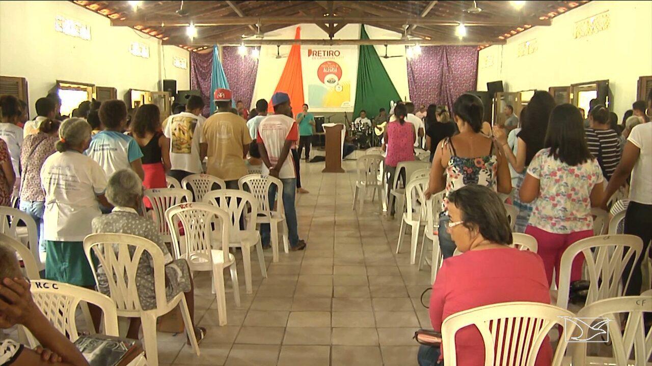 Bom Dia Espiritual: Comunidades Participam De Retiro Espiritual Durante O