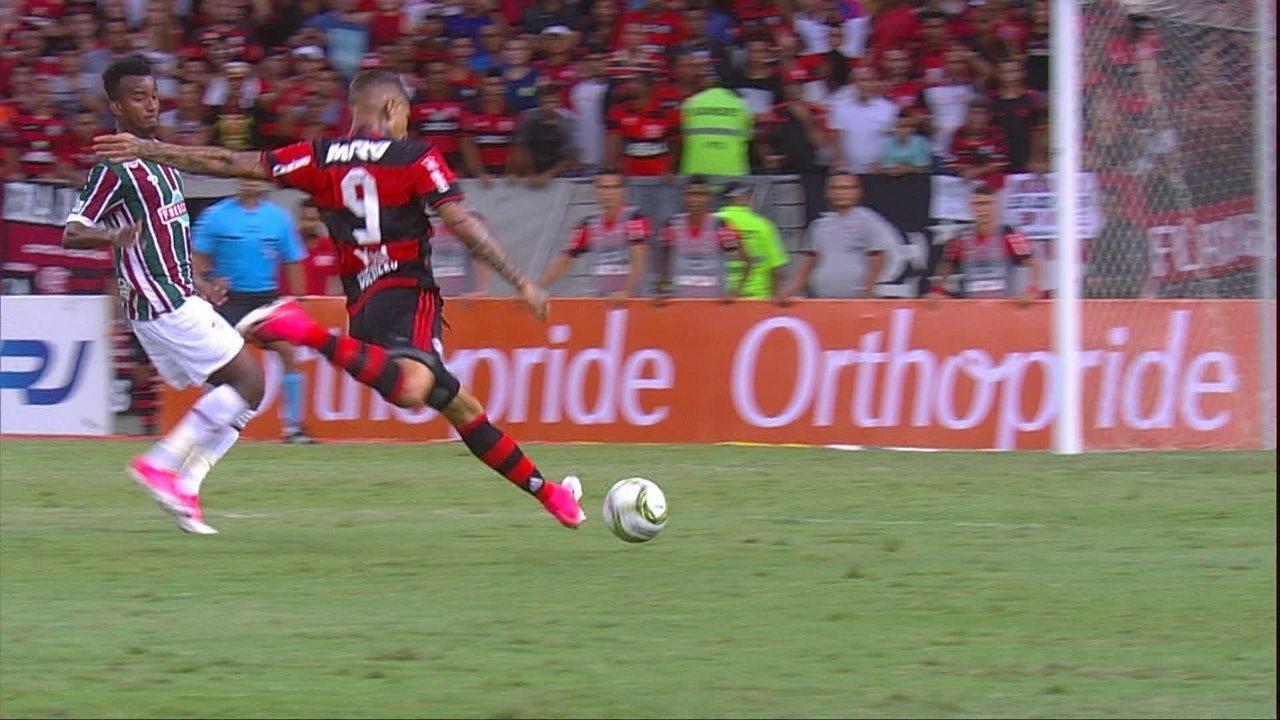 Melhores momentos de Flamengo 1 x 0 Fluminense pelo Campeonato Carioca