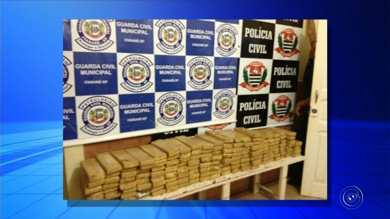 Polícia apreende mais de 160 kg de maconha enterrados em área florestal