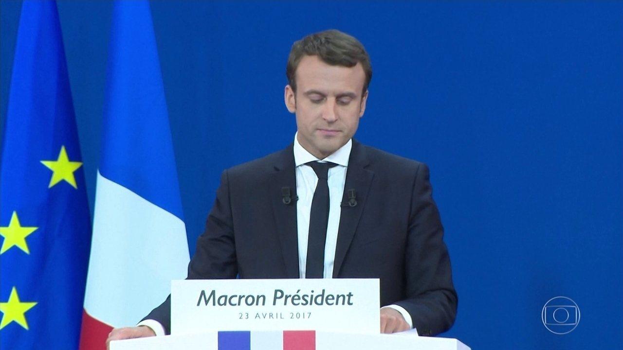 Veja a repercussão da vitória de Macron na Europa e nos Estados Unidos