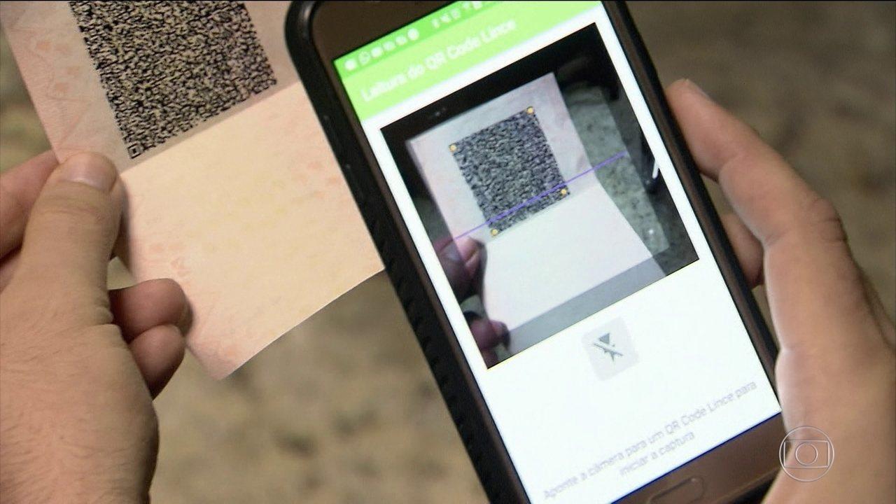 Novas CNHs têm código de barras digital, tecnologia para evitar fraudes