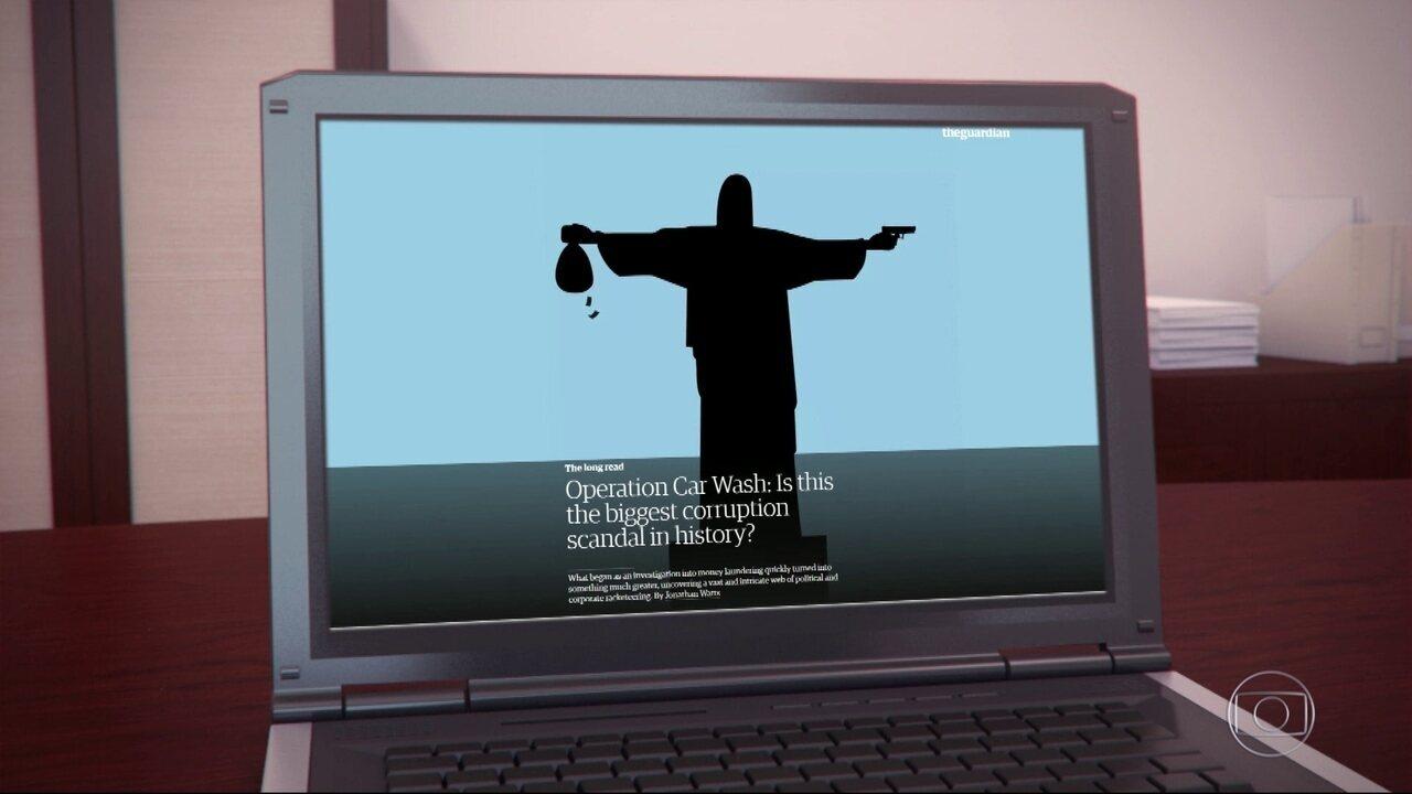 Ilustração de Cristo armado é 'ofensa' ao Brasil, diz Arquidiocese