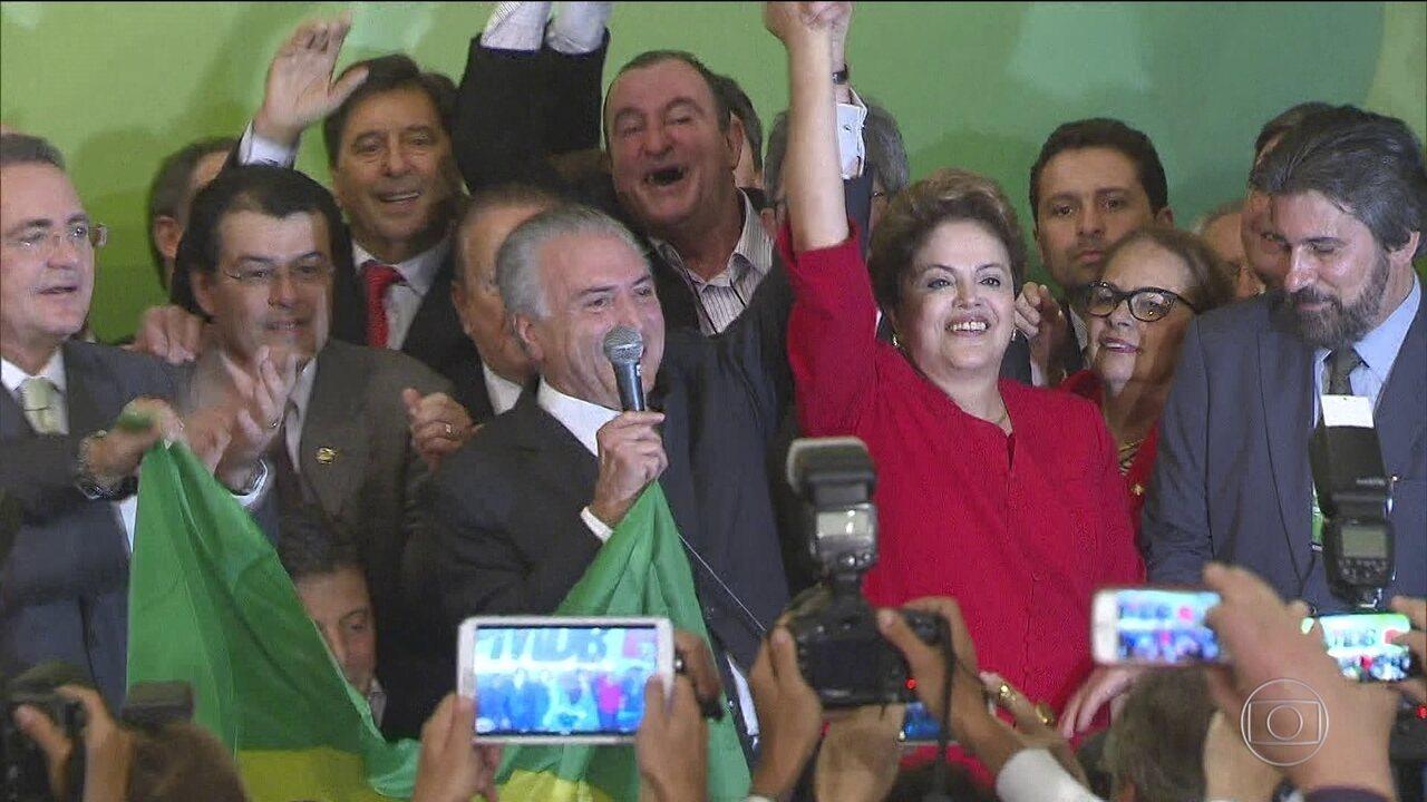Chapa Dilma-Temer volta a ser julgada pelo TSE nesta terça-feira (6)