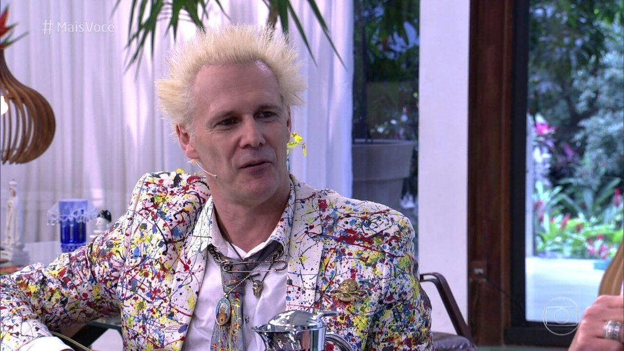 Supla revela que se inspirou em David Bowie para ficar loiro