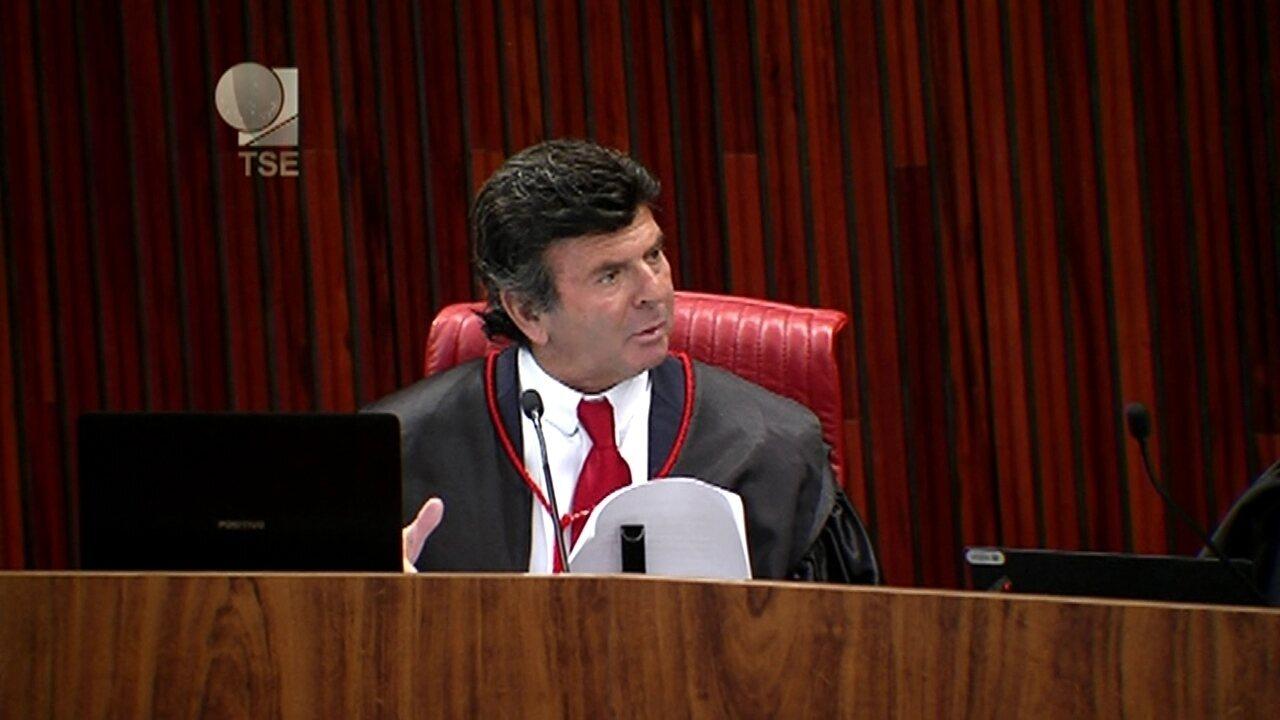 'Os tribunais não podem julgar ora de uma forma, ora de outra', diz Luiz Fux
