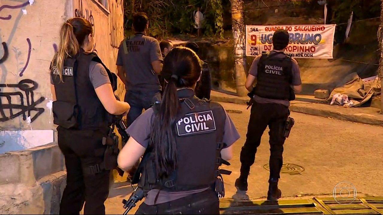 Resultado de imagem para mega operação policia rj