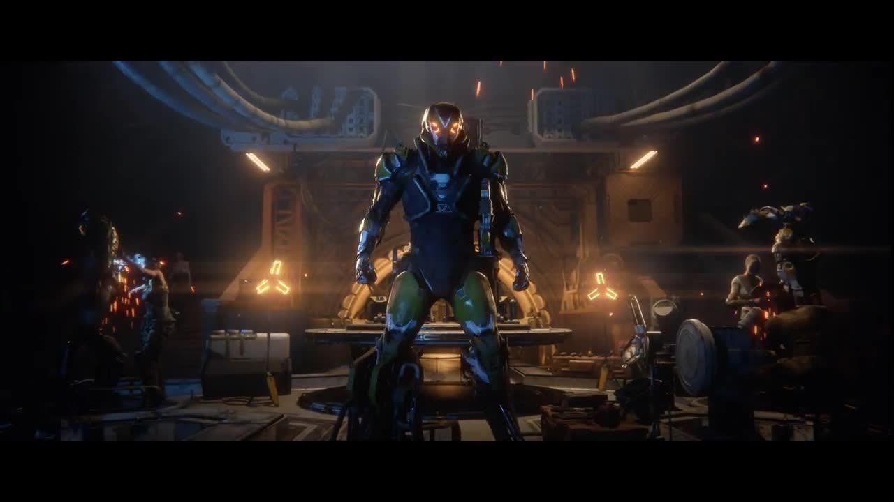 Anthem é o novo jogo da BioWare - Teaser Trailer