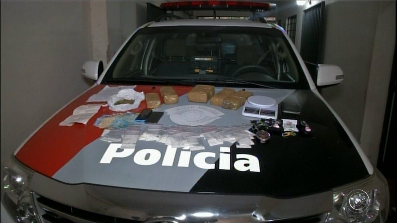 Polícia faz operação para combater tráfico de drogas em Itapeva e região