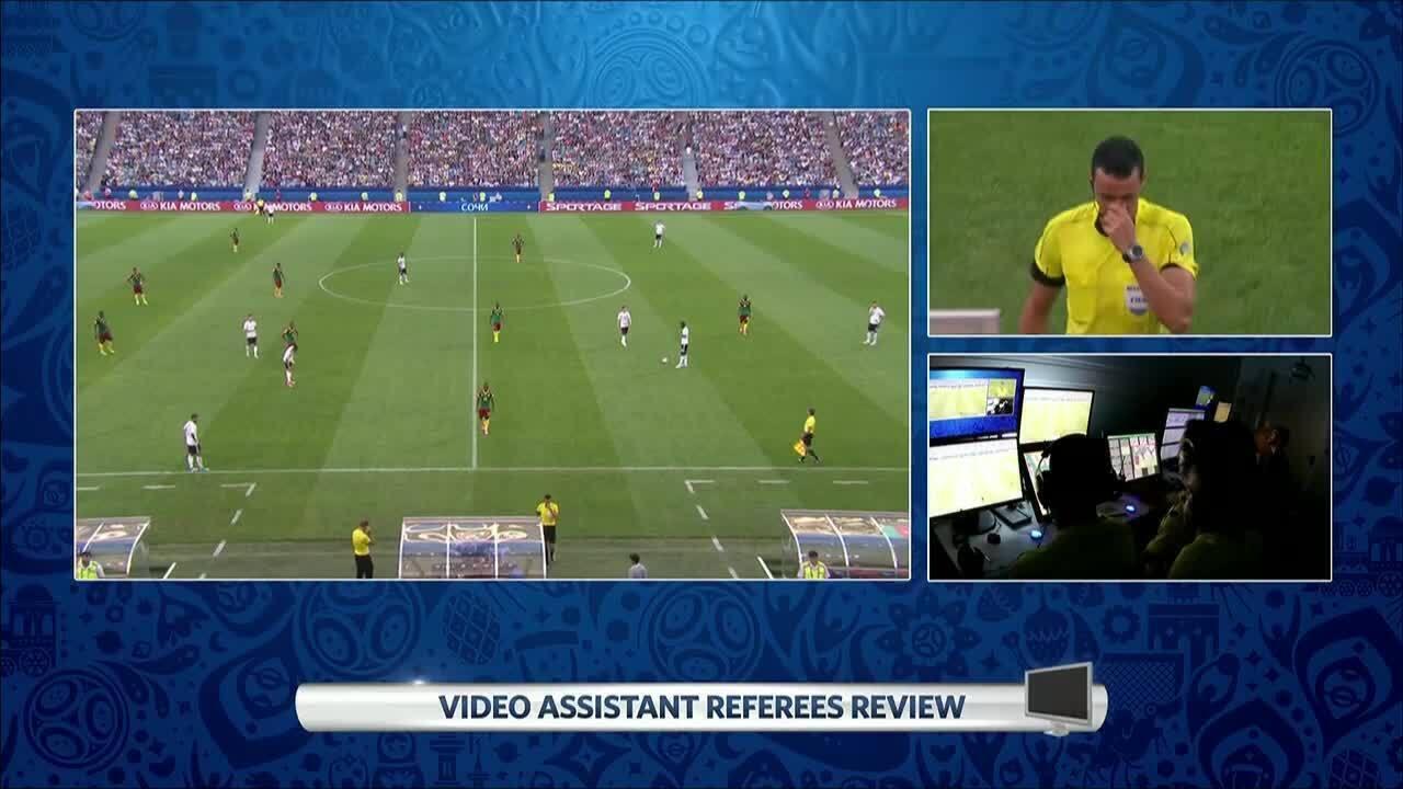 Confira lances da Copa das Confederações que tiveram a análise do árbitro de vídeo