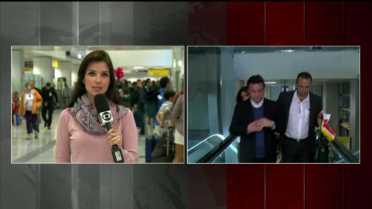 Wesley Batista, irmão do dono da JBS, chega ao Brasil