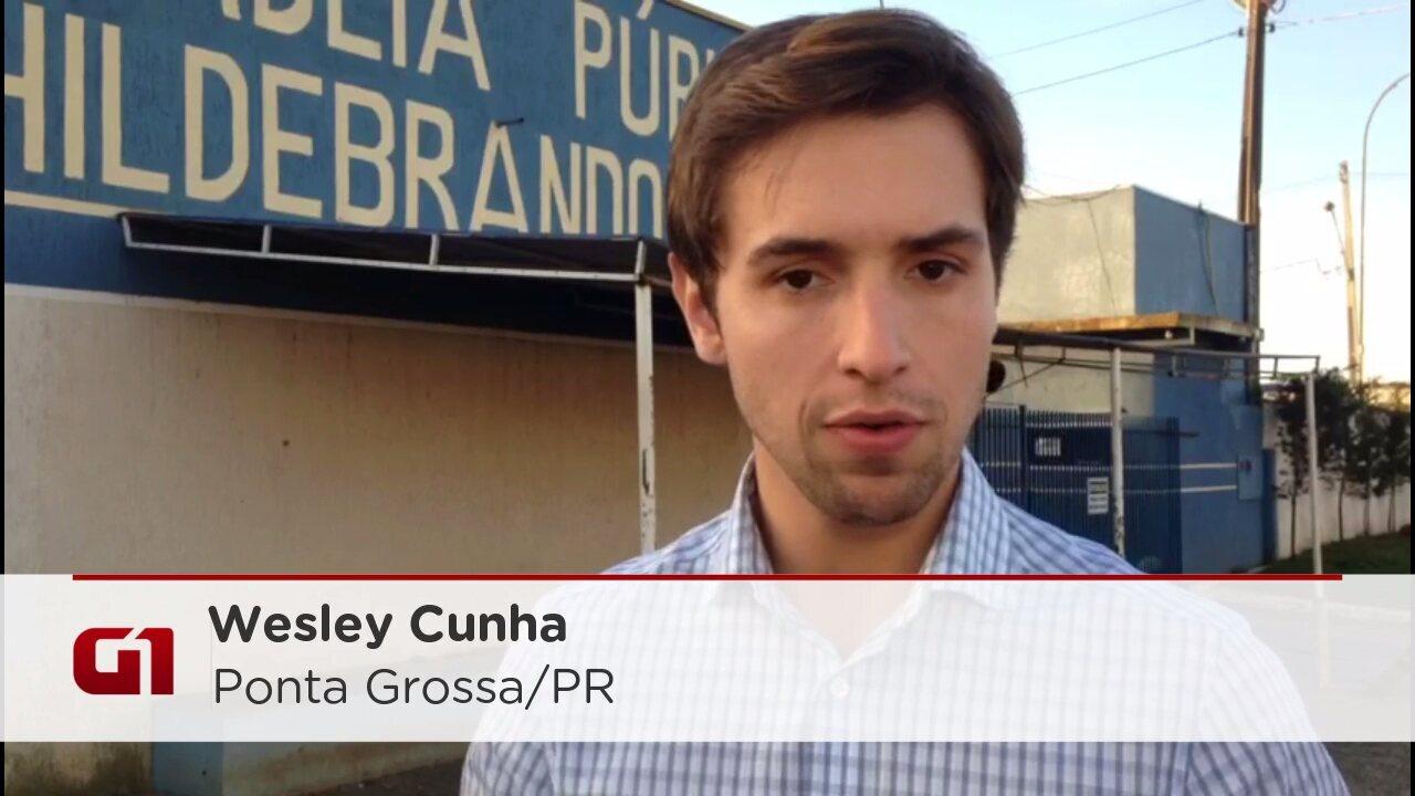 Pais ficam frente a frente durante investigação a suposta agressão a bebê em Ponta Grossa