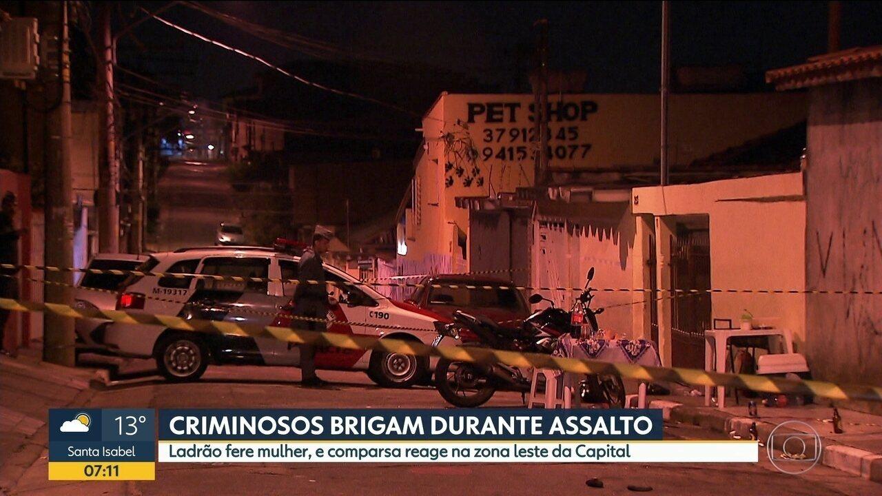 Resultado de imagem para Criminoso é morto por comparsa após desentendimento sobre disparo em assalto