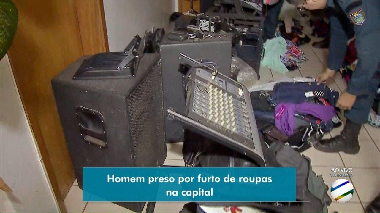 a7e684ffb Homem é preso suspeito de furtar loja em Campo Grande - G1 Mato Grosso do  Sul - MSTV 1ª Edição - Catálogo de Vídeos