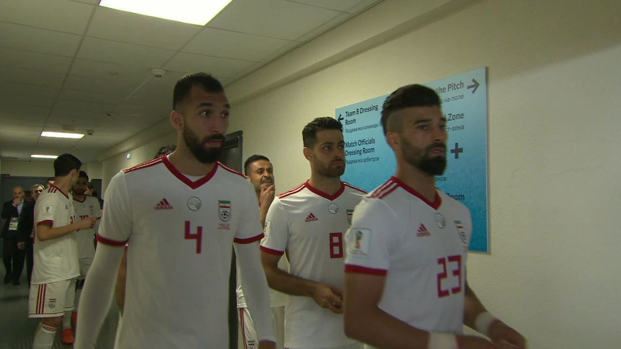 da676c972f Seleção do Irã teve dificuldades com o uniforme da Copa - GloboNews -  Estúdio i - Catálogo de Vídeos