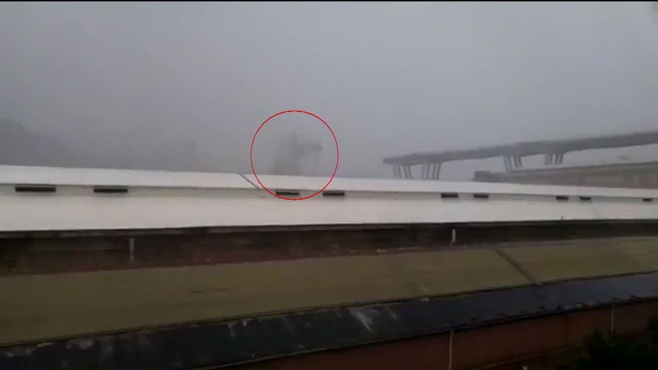 Veja O Momento Em Que Ponte Cai Em Genova Globonews Jornal