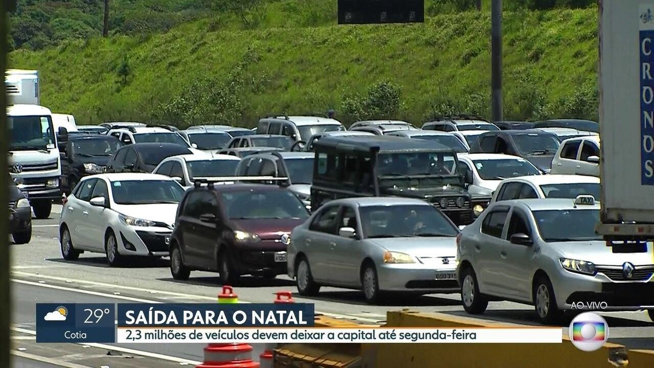3635eeddda211 Rodovia dos Imigrantes tem congestionamento na saída para o feriado de  Natal - G1 São Paulo - Vídeos - Catálogo de Vídeos