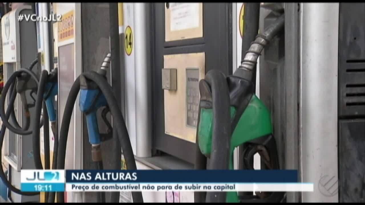 5f74ec6d4b Preço dos combustíveis volta a subir em Belém - G1 Pará - Jornal Liberal 2ª  Edição - Catálogo de Vídeos