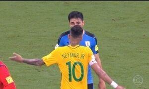 Indisciplina de Neymar pode prejudicar o Brasil nas Eliminatórias