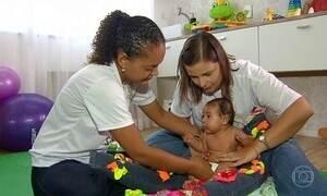 Trinta bebês com microcefalia são atendidos por especialistas em Recife