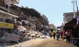 Passa de 400 o número de mortos em terremoto no Equador