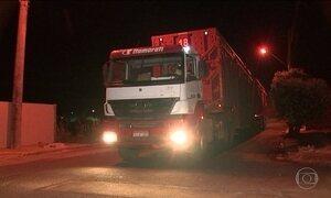 Caminhões causam transtornos em cidades do interior paulista