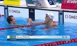 Campeão olímpico Cesar Cielo não consegue classificação para os Jogos de 2016
