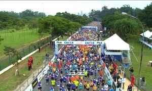 Atletas disputam a Maratona de São Paulo no domingo (24)