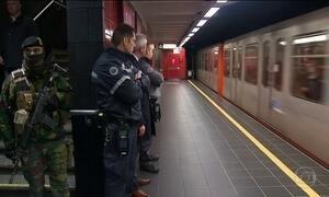 Metrô de Bruxelas volta a funcionar normalmente um mês após atentados