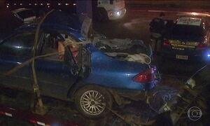 Acidente rodoviário mata sete da mesma família, em SC