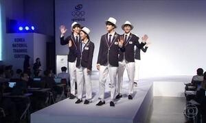 Uniforme da delegação coreana para os jogos olímpicos é reforçada com repelente
