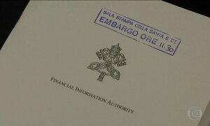 Investigação no Banco do Vaticano aponta mais de 500 transições suspeitas