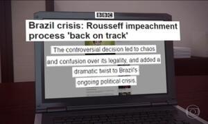 Decisões de Maranhão sobre o impeachment repercutem no exterior