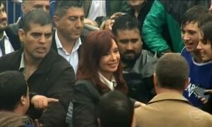 Justiça da Argentina abre processo contra Cristina Kirchner