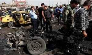 Cinquenta pessoas morrem em três atentados em Bagdá