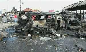 Mais de 100 pessoas morreram em atentados a bomba na Síria