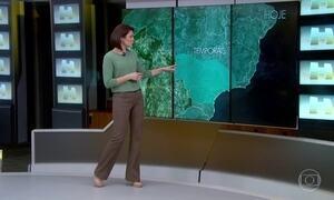 Risco de temporal continua em várias regiões do país