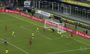 Brasil é eliminado da Copa América Centenário pelo Peru com gol de mão