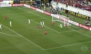 Confira os gols desta terça-feira na Copa América e na Eurocopa