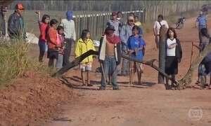 Índios invadem fazenda no Mato Grosso do Sul