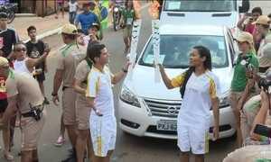 Rio Branco recebe revezamento da tocha olímpica nesta terça (21)