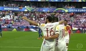Alemanha e Espanha se classificam para oitavas de final da Eurocopa