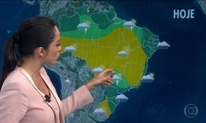 Previsão é de chuva forte em São Paulo, Rio de Janeiro, Paraná e Nordeste