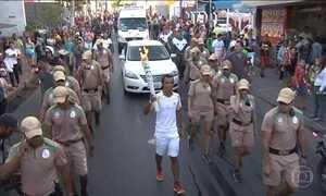Revezamento da tocha olímpica passa por Cuiabá nesta quinta-feira (23)