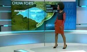 Sábado (25) será de mudança climática no Sul do país